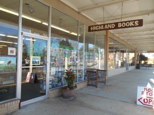 Highland Books in Brevard, NC
