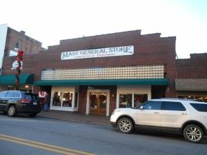 Mast General Store on North Main Street, Waynesville, NC.