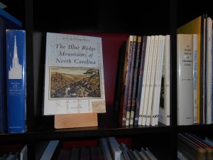 My book on the shelf at Battery Park Book Exchange & Champagne Bar in Asheville, NC.