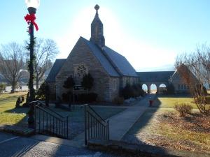 Lake Junaluska's Memorial Chapel.