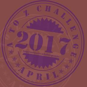 2017 A to Z Challenge Badge