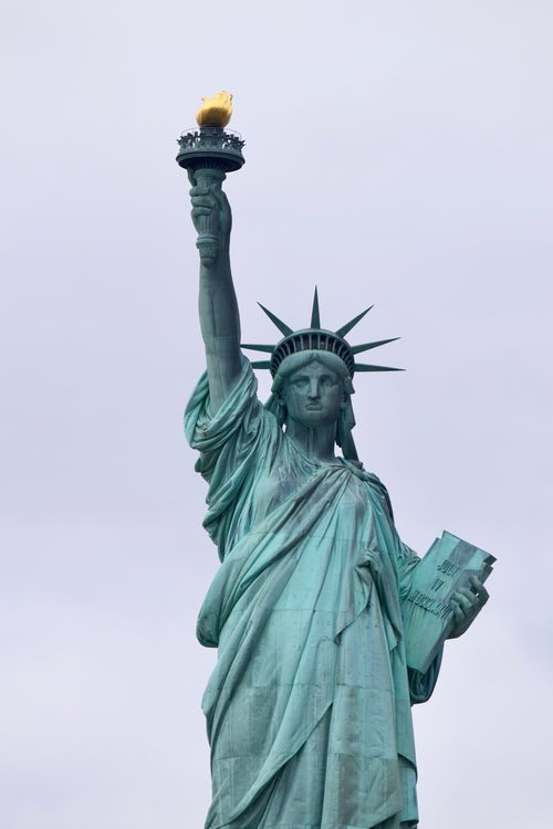 The Statue of Liberty vertical photo