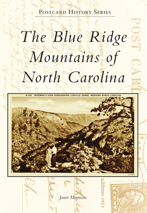 #BlueRidgeMtnsOfNC #PostcardBook