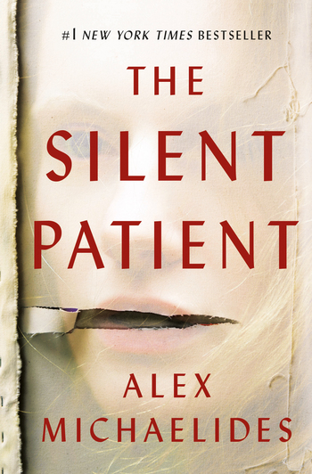 The Silent Patient, a psychological thriller by Alex Michaelides