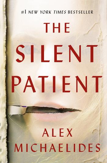 The Silent Patient, a psychological thriller by Alex Michaelides